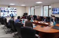 Совещание с представителями  Агентства по противодействию коррупции