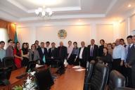 Очередное собрание первичной партийной организации «Сарапшы» Есильского районного филиала ОО «Партии «Нұр Отан»