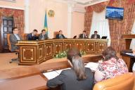 Аппаратное совещание под председательством акима области Мухамбетов А.Б.
