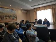 В филиале по Северному региону  5 мая 2019 г. была проведена лекция на тему «Противодействие коррупции в Республике Казахстан»