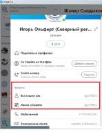 Инструкция по использованию skype, для участия в экспертном совещании