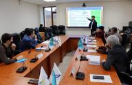 Meeting with representatives of the Anti-Corruption Agency
