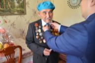 Поздравление ветеранов ВОВ
