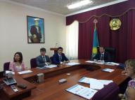 Совещание под председательством заместителя акима области Карплюка С.А. в связи с изменениями и дополнениями в Экологический кодекс РК