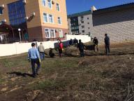 Общегородской субботник в Уральске