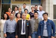 Посещение генеральным директором филиала РГП Госэкспертиза по Западному региону